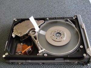 damage hard disk plate 1
